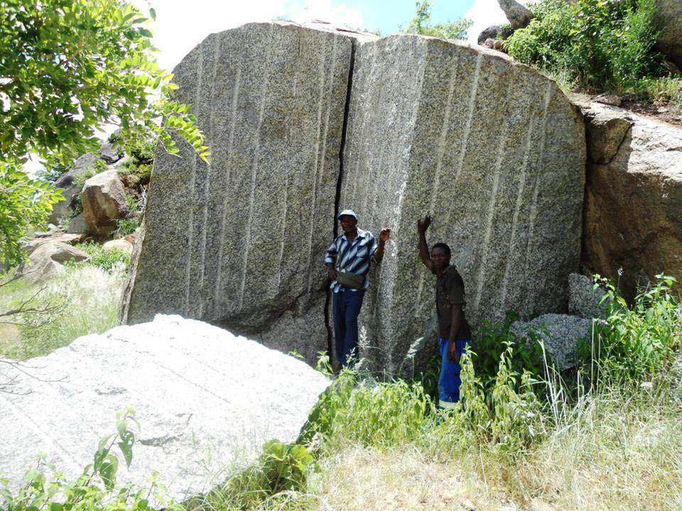 Tete Blue Granite Quarry